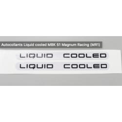 Autocollants liquid cooled...