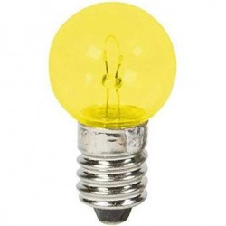 Ampoule à vis jaune 6V